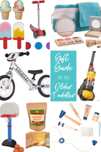 2019 Holiday Gift Guide for the Older Toddler.