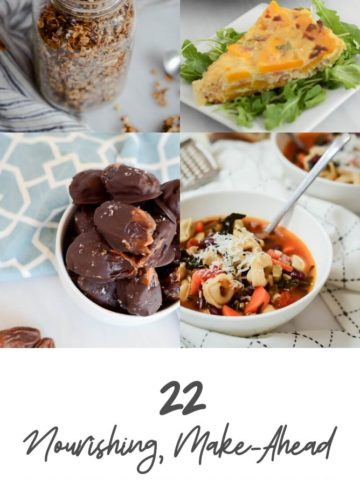 22 Nourishing, Make-Ahead Postpartum Recipes